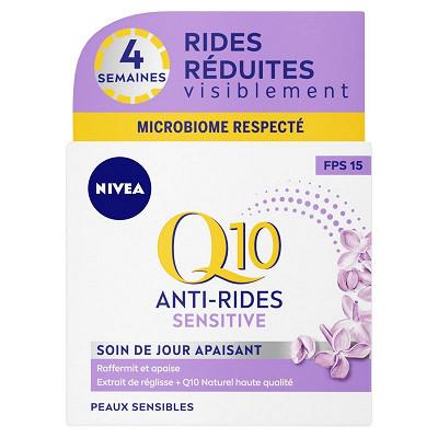 Nivea Nivea visage Q10+ sensitive jour 50ml