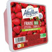 Altiflore bac sorbet fraise bio 450 g