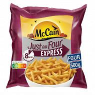 Mccain frites just au four express 500g