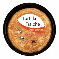 Tortilla fraiche oignons 500gr