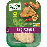Herta le bon végétal escalope grillée soja et blé 150g