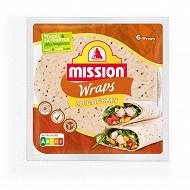 Mission wraps multigrains 370g