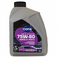 Cora huile boites de vitesses et ponts 75w80 2L