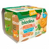 Blédina pots salés legumes jambon/epinards merlu/ panais dinde 200gx4