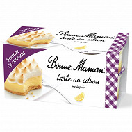 Bonne Maman tarte citron meringuée 4x90g format gourmand