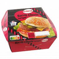 Cora bacon cheese burger 195g