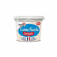 Yoplait crème fraîche entière 30% mg 190g