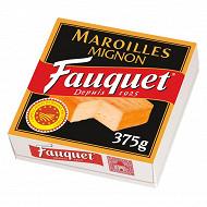 Fauquet maroilles mignon aop 26%mg 375g