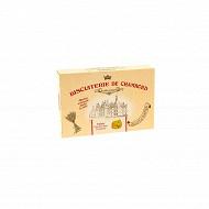 Biscuiterie de Chambord palets chocolat blanc framboise 300g