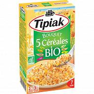 Tipiak bouquet 5 céréales bio 300g(2x150g)