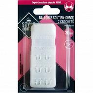 Style couture rallonge soutien-gorge 30mm blanc