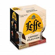 Coffret leffe sélection 3x75cl + 2 verres Vol.6.06%