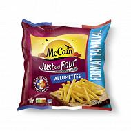 Mccain frites just au four allumettes 1.625g