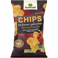 Alnatura chips cuites à la marmite paprika fumé 125g