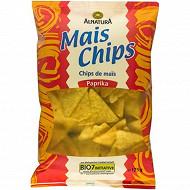 Alnatura chips de maïs paprika 125g