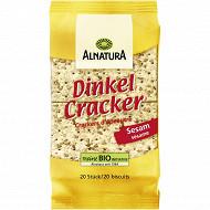 Alnatura crackers d'épeautre sésame 100g