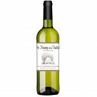 St Jean de la Vallée sélection vin de la communauté européenne blanc moelleux 75cl