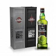 Clan Campbell 70cl Tin box 40% Vol.