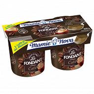Mamie Nova gourmand fondant café 2x150g Offre de Mamie