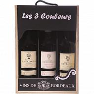 Coffret 3 couleurs de Bordeaux Château Haut-Reynaud 12.5% Vol. 3x75cl