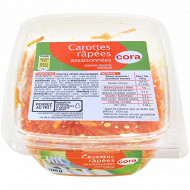 Cora carottes râpées assaisonnées 300g