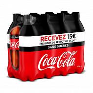 Coca-Cola zéro pet 8x1.75l contour offre de fidélité 15  remboursés