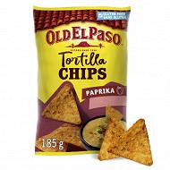 Old el paso tortilla chips paprika 158g