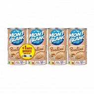 Mont blanc creme dessert praline 3x570g + 1offert 2280g