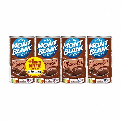 Mont blanc chocolat 3x570g+1 offert