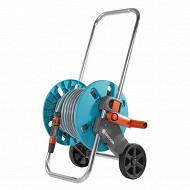 Gardena dévidoir sur roues équipé avec 20m de tuyau diam 13mm