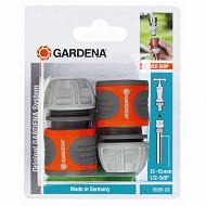 Gardena 2 raccords rapides diam 13/15m