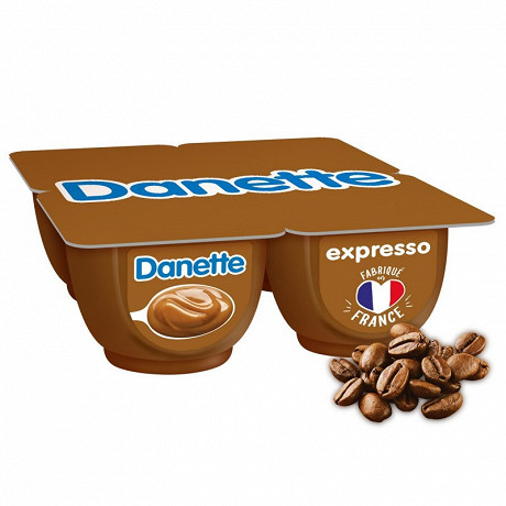 Danette expresso 4x125g