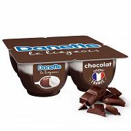 Danette le liégeois chocolat 4x100g