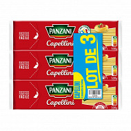 Panzani pates capellini 500g x3