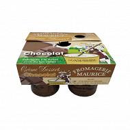 Crème chocolat 4x125g
