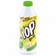 Yop aromatisé citron 850g offre découverte