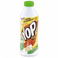Yop aromatisé fraise banane 850g offre découverte