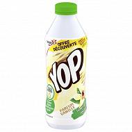 Yop aromatisé vanille 850g offre découverte