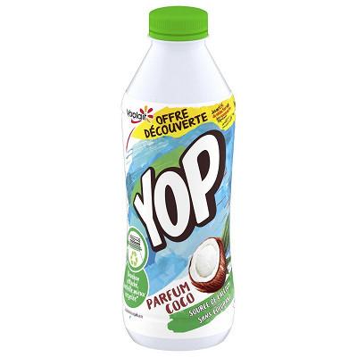 Yoplait Yop aromatisé coco 850g offre découverte