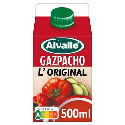 Alvalle Alvalle de Tropicana gazpacho brique 500ml
