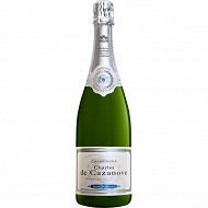 De cazanove champagne tradition blanc de blancs 75cl 12%