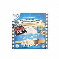 Pop'box popcorn salé mircro onde