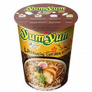 Yum Yum soupe nouille cup poulet shoyu 70g