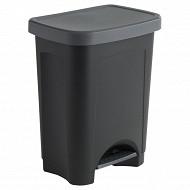 Poubelle 25 litres noir