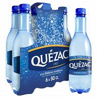 Quezac eau minérale naturelle gazeuse 6x50 cl