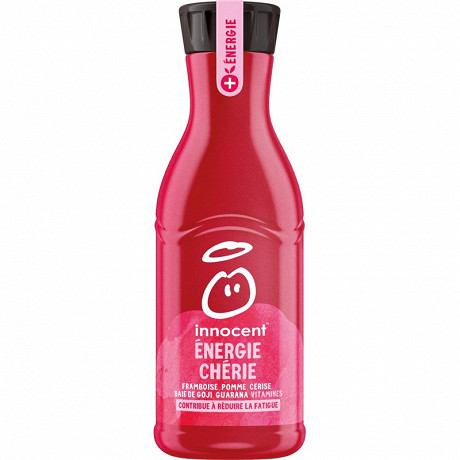 Innocent plus energie cherie framboise cerise pomme goji 750 ml