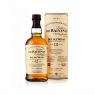 Balvenie whisky 12 ans double wood 70cl 40%vol + etui