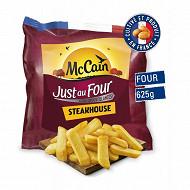 Mccain frites just au four steakhouse 625g