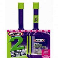 Wynn's lot 2 nettoyants injecteurs et carburateurs essence