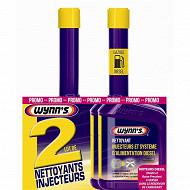 Wynn's lot 2 nettoyants injecteurs et système d'alimentation diesel